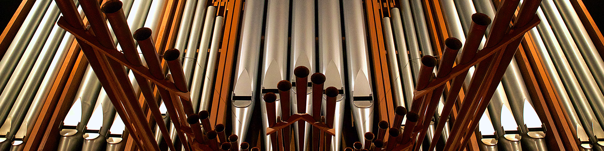 Mount Olive Church Organ pipes