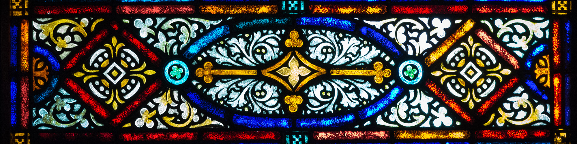Mount Olive Church Stained Glass Windows
